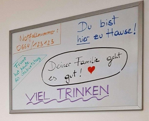 Demenz Whiteboard