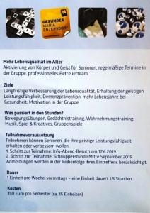 Gedächtnistraining Maria Enzersdorf Demenz
