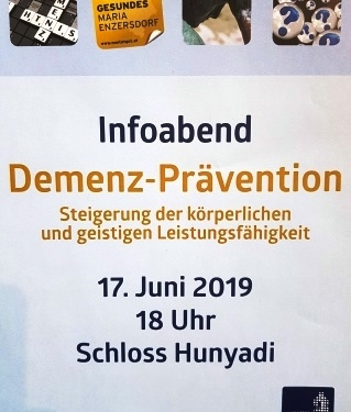 Einladung Alzheimer-Demenz-Prävention-Training
